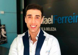 Após anos de estudo, Rafael Ferreira se tornou referência na área de estética